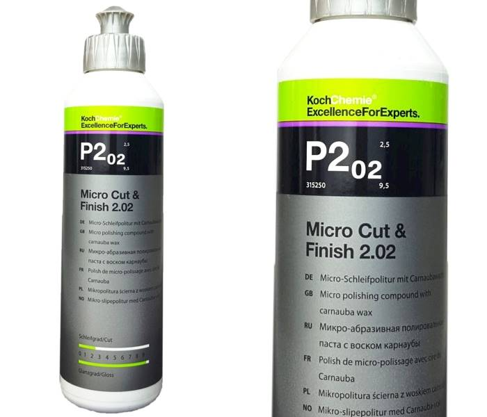 KOCH CHEMIE P2.02 250 ML - Micro Cut & Finish