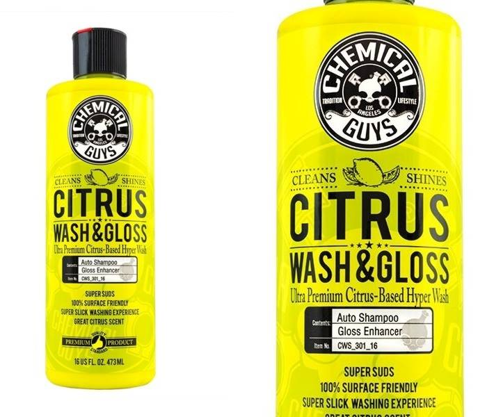 CHEMICAL GUYS CITRUS WASH & GLOSS CONCENTRAT 473 M