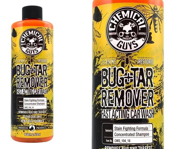 CHEMICAL GUYS BUG & TAR REMOVER WASH SHAMPO 473 ML