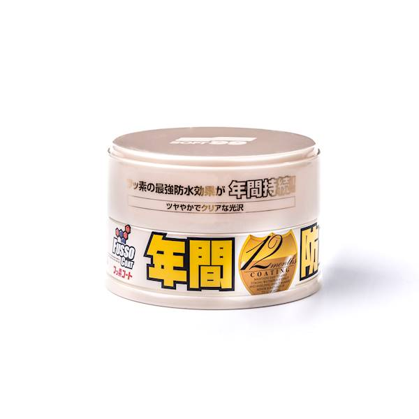 SOFT 99 FUSSO COAT 12 MONTHS WAX LIGHT 200 G