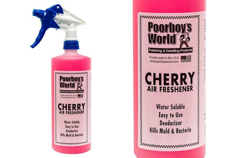 POORBOY'S WORLD AIR FRESHENER CHERRY 946 ML