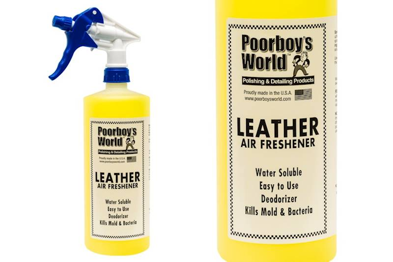 POORBOY'S WORLD AIR FRESHENER LEATHER 473 ML