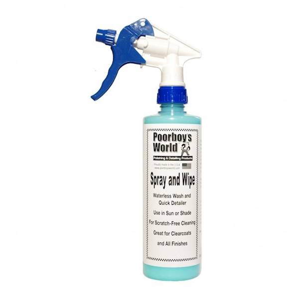 POORBOY'S WORLD SPRAY & WIPE 473 ML