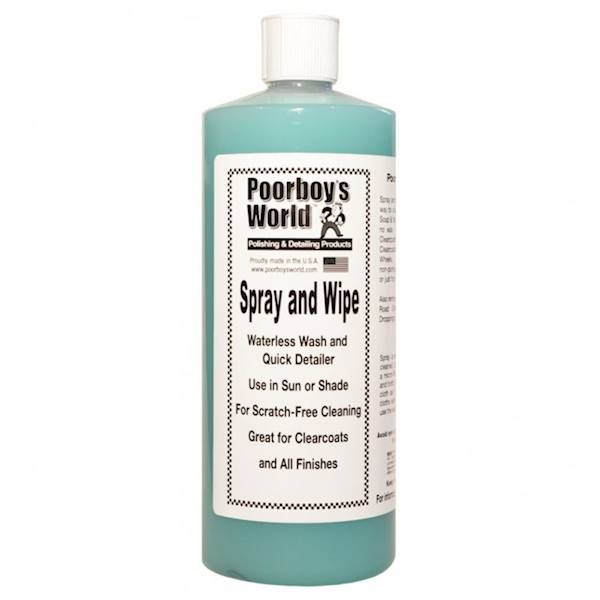 POORBOY'S WORLD SPRAY & WIPE 946 ML
