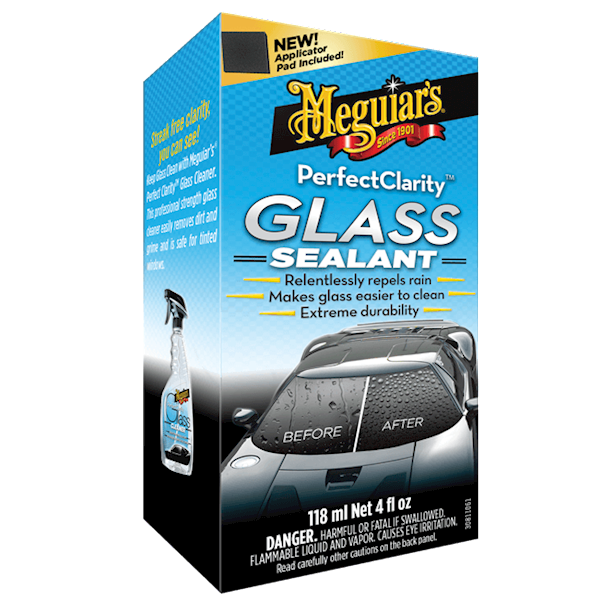 MEGUIARS PERFECT CLARITY GLASS SEALANT 118 ML