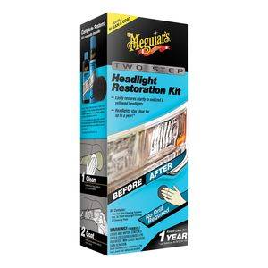 MEGUIARS PERFECT CLARITY 2-STEP HEADLIGHT NEW KIT