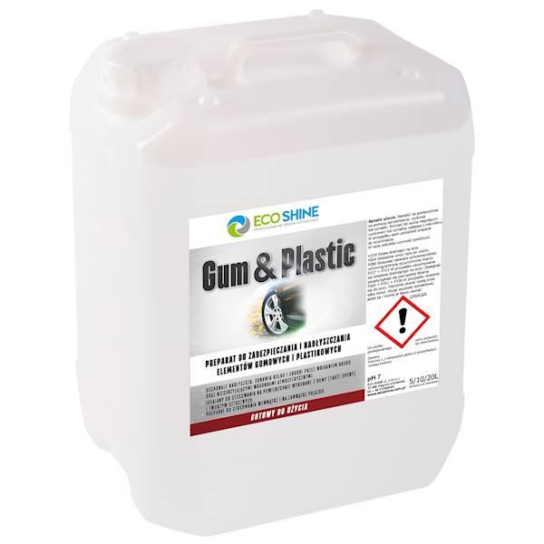 ECO SHINE GUM & PLASTIC 5L