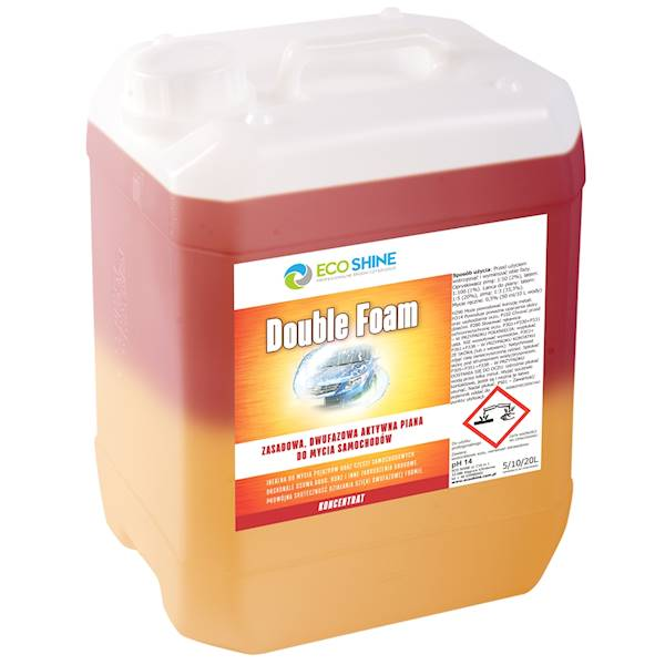 ECO SHINE DOUBLE FOAM 10L