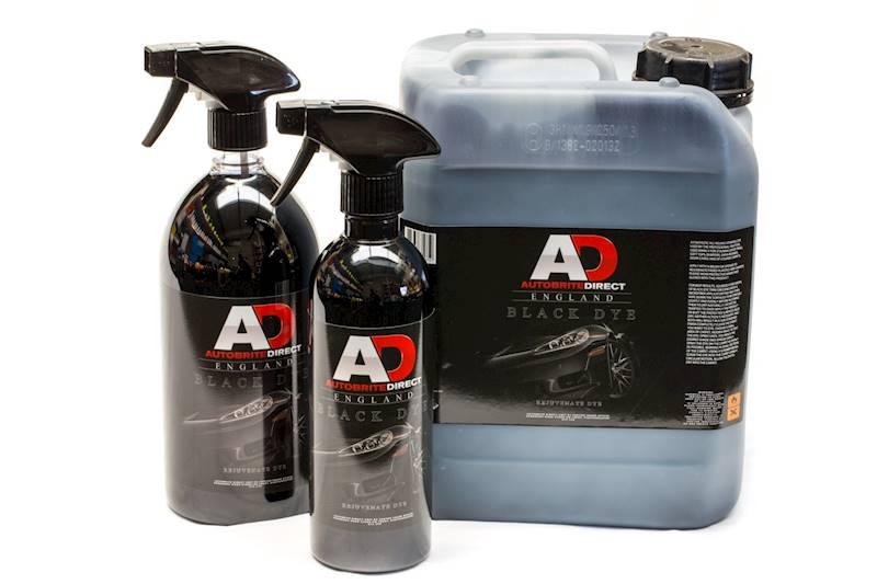 AUTOBRITE Black Dye - czernidło do dywaników 5 L