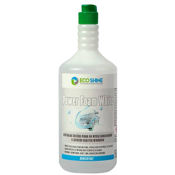ECO SHINE POWER FOAM WHITE 1L