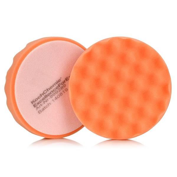 Koch Chemie Gąbka 130 Pomarańczowa Karbowana 135mm