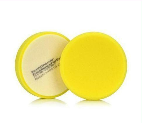 Koch Chemie Gąbka 130 Żółta Średnio-Twarda 130mm