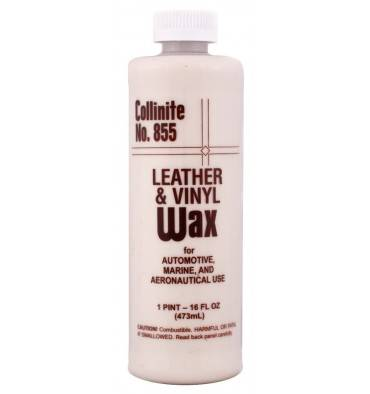 COLLINITE 855 Leather and Vinyl Wax 473m