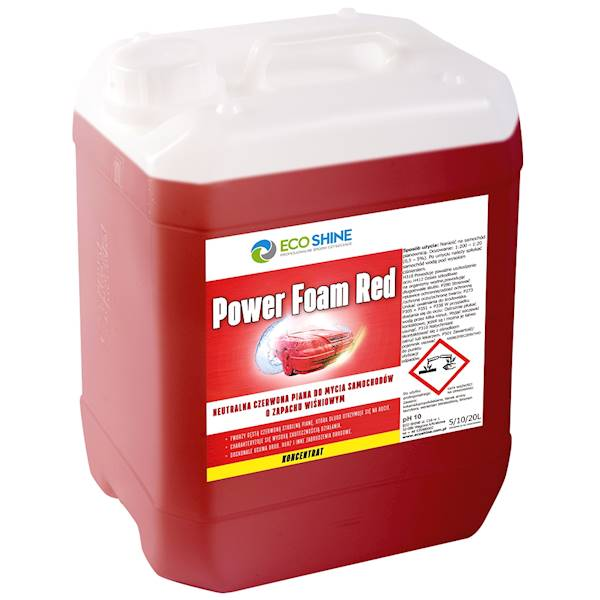 ECO SHINE POWER FOAM RED 5L