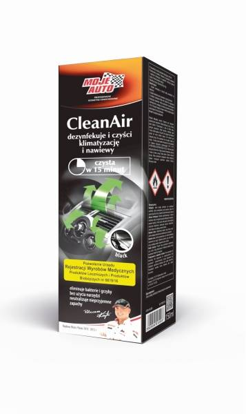 MOJE AUTO CLEAN AIR - BLACK
