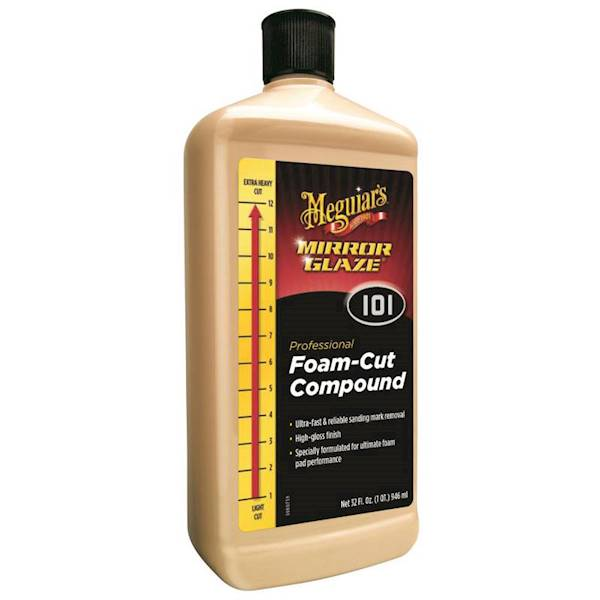 MEGUIARS 101 FOAM-CUT COMPOUND