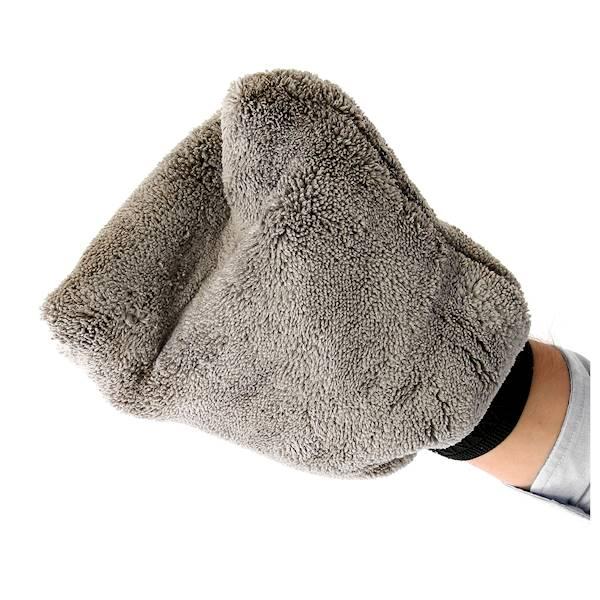 CCS Rękawica do mycia z microfibry - GREY