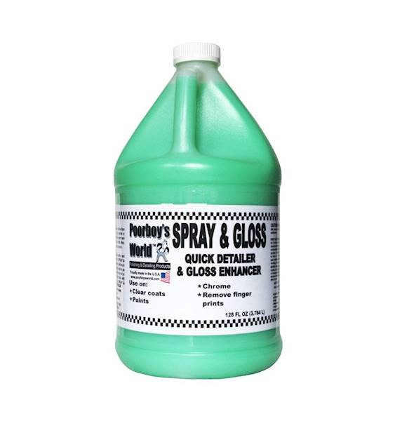 POORBOY'S WORLD Spray & Gloss 3784 ml
