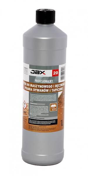 JAX - Płyn do prania dywanów i tapicerki 1L