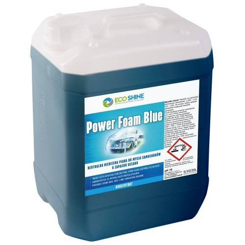 ECO SHINE POWER FOAM BLUE 10L