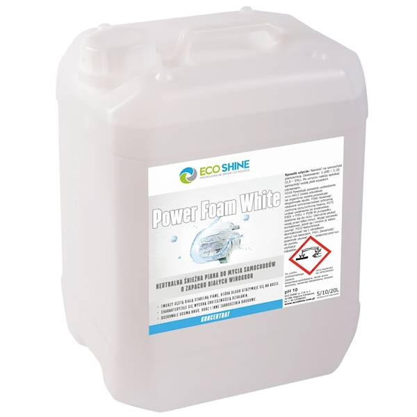 ECO SHINE POWER FOAM WHITE 10L