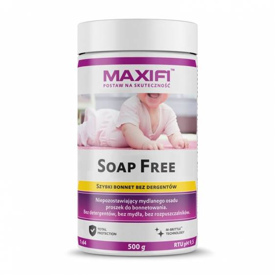 Maxifi Soap Free – produkt do bonnetowania 500g