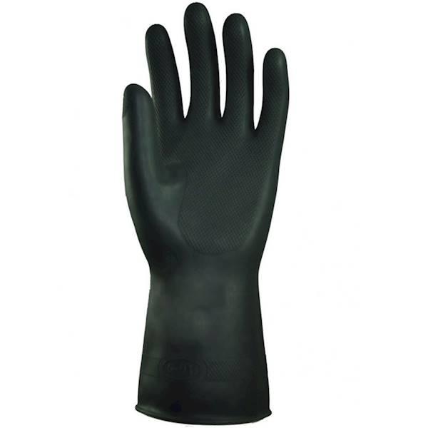 """Rękawice lateksowe gospodarcze rozmiar """"L"""""""