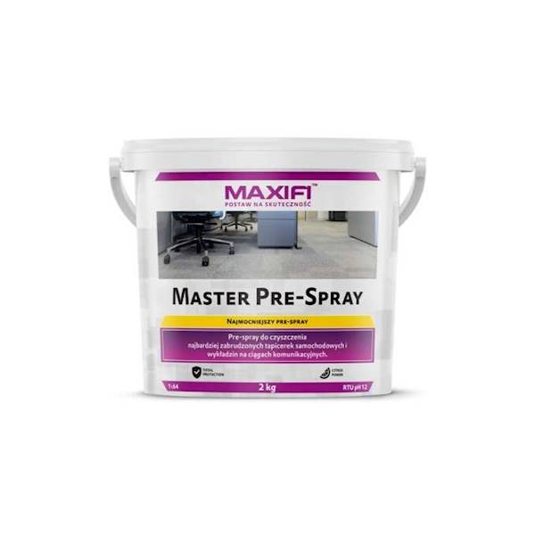 Maxifi Master Pre-Spray – proszek do prania tapice