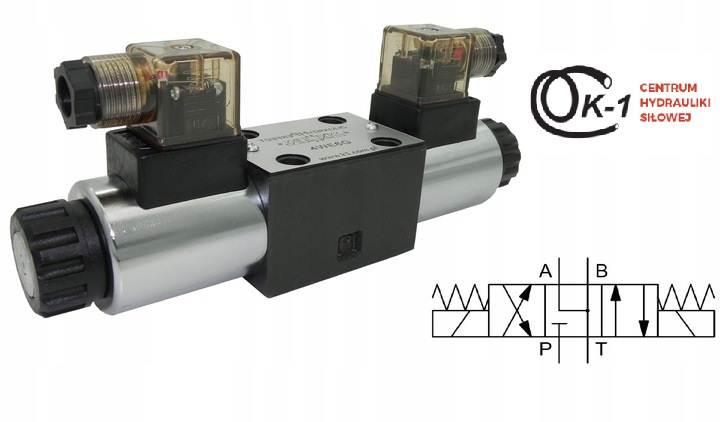 Elektrozawór Rozdzielacz 4WE6J DG4V NG6 CETOP3 12V/24V/230V