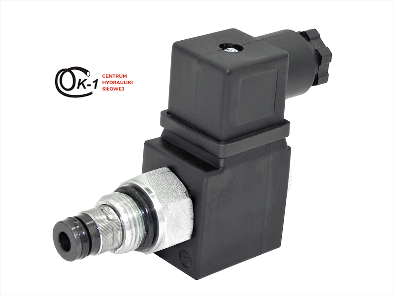 Zawór hydrauliczny elektryczny 12V/24V/230V otwarty bez bloku