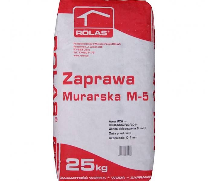 Zapr.  ROLAS murarska 25kg
