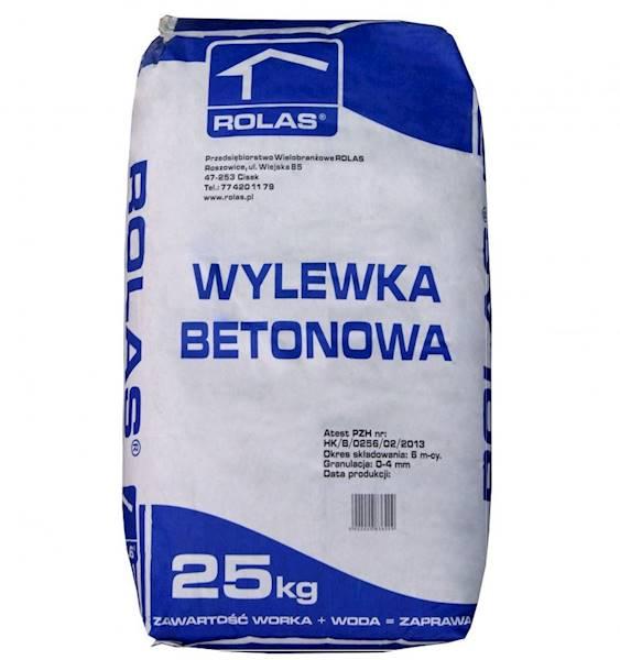 Zapr.  ROLAS wylewka bet. B20  25kg