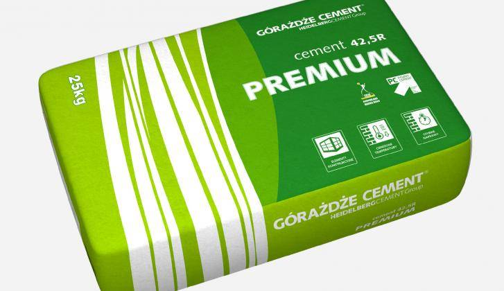Cement CEM I 25kg 42,5