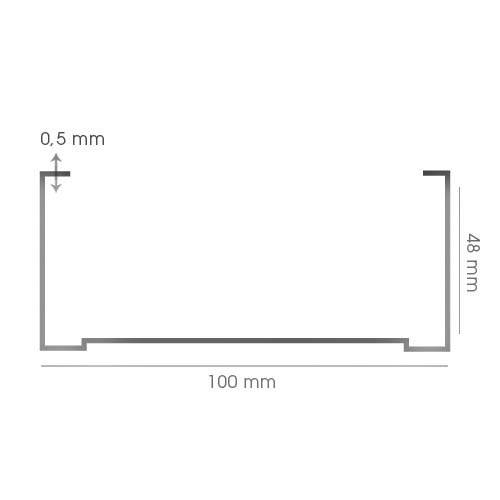 Al. Profil.   CW-100 4m