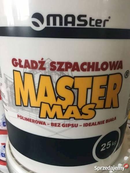 Gładź gotowa  MASTER 25kg