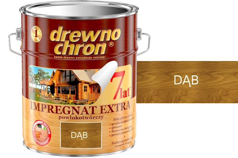 Drewnochron Dąb 10l