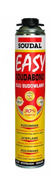 SOUDAL klej Easy 750ml poliuretanowy