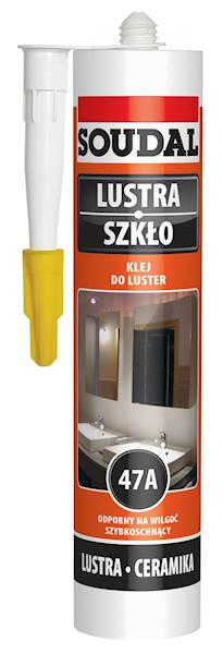 SOUDAL klej do luster 47A