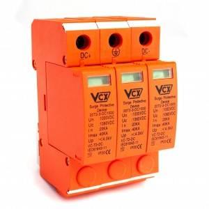 OGR.PRZEPIĘĆ DC typ2 3P VCX Professional 1000V