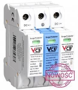 OGR.PRZEPIĘĆ DC typ2 3P 1000V z isk.gazowym