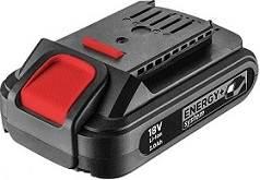 Akumulator Energy+18V, Li-lon 2,0 Ah GRAPHITE
