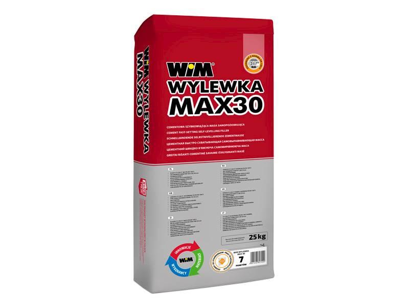 WIM Wylewka samopoziomująca MAX 30 25 kg