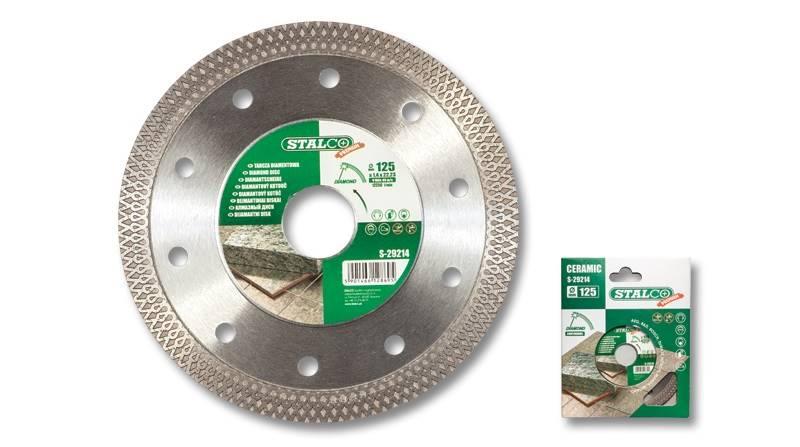 Tarcza diamentowa 125x1,4 mm ceramic STALCO