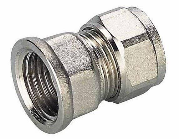 PEX Złączka prosta 16mm x 1/2 GW - system skręcany