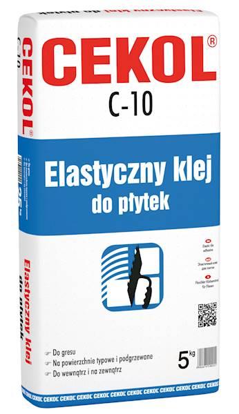 CEKOL C10  Elastyczny klej do płytek  5 kg