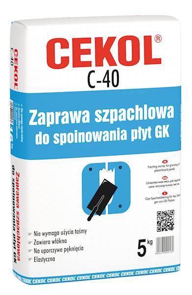 CEKOL C40 Szpachlówka do spoin  5 kg