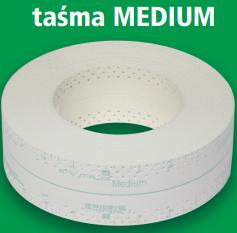 Taśma SMH-MEDIUM do płyt k-g 10 mb (zielona)