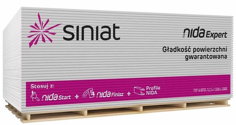 Płyta SINIAT 1200x2600x9,5mm EXPERT