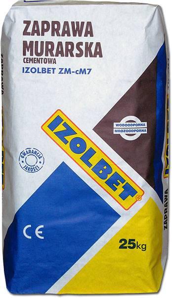 Zaprawa Izolbet murarska cementowa 25kg