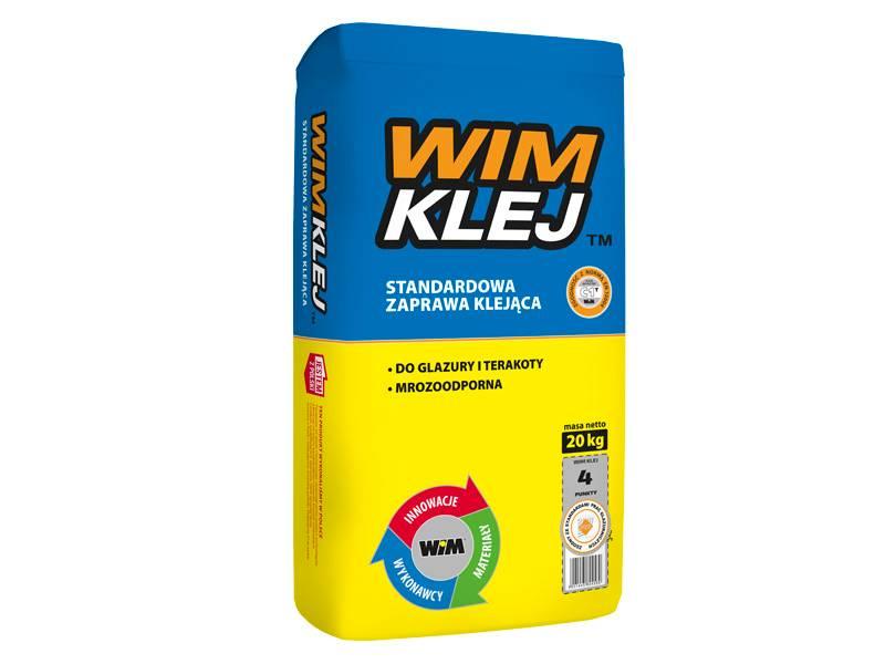 WIM KLEJ Standardowa zaprawa klejąca 20 kg